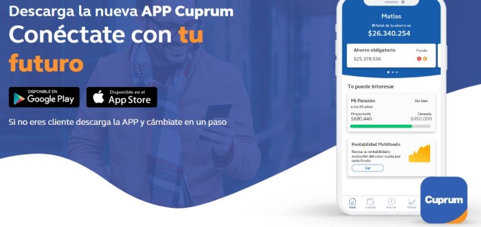 App Cuprum