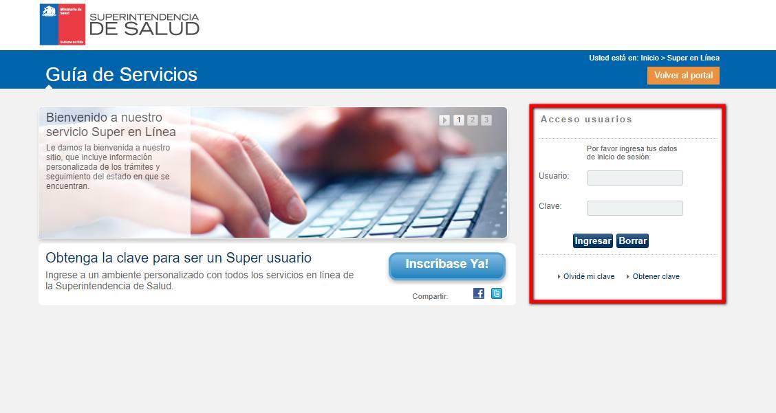 acceso a usuarios