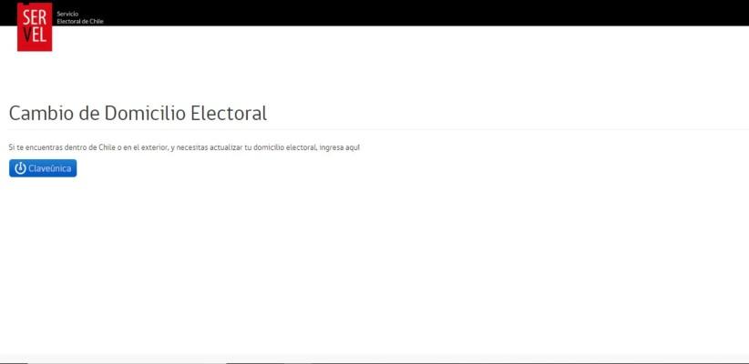 cambio de domicilio electoral