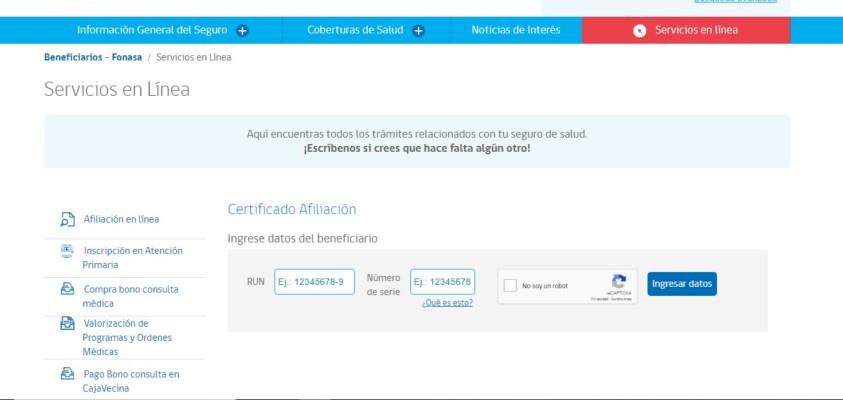 certificado de afiliacion