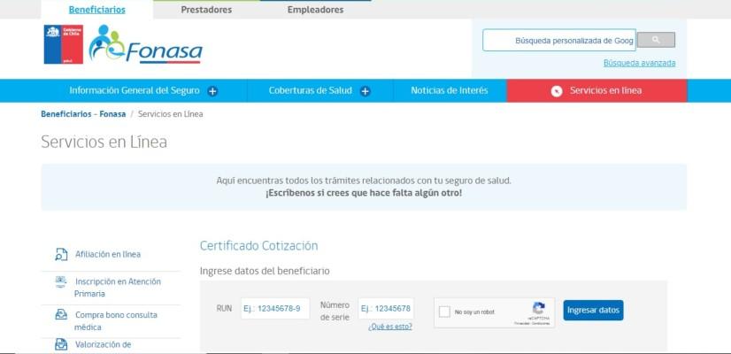 certificado de cotizacion