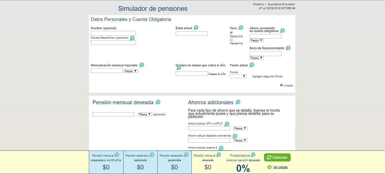 simulador de pensiones sin clave