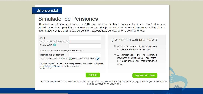 simulador de pensiones
